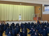 生徒代表挨拶